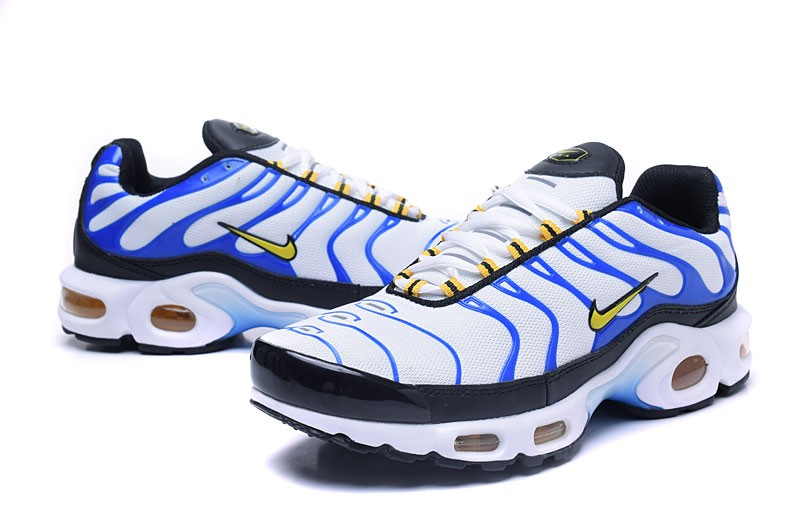 new style f279f b6d9d Newest Nike Air Max Plus TN Ultra Blue/White/Black Running Shoes On Sale