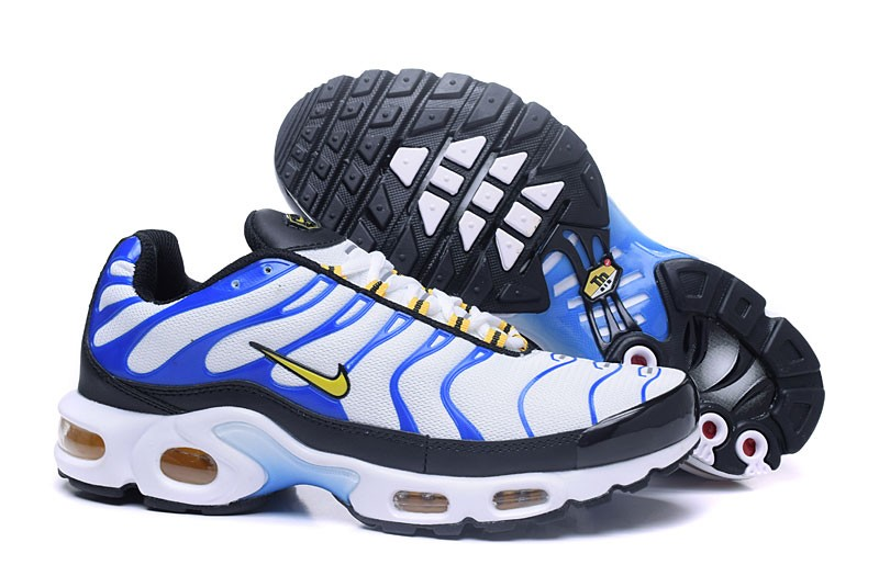 new style 237f2 23dec Newest Nike Air Max Plus TN Ultra Blue/White/Black Running Shoes On Sale