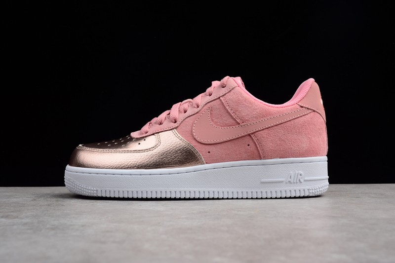Sale Red 1 In Bronzewhiteprism Force Girls Air Pink Metallic Nike Ee29HYIWD