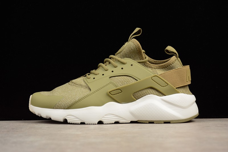 3caf538aca56 Nike Air Huarache Run Ultra Olive-Summit White 833147-201 Mens Footwear
