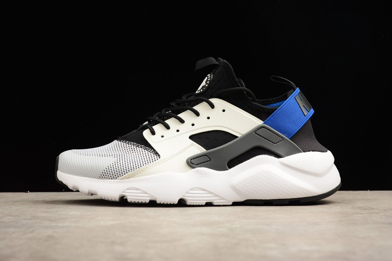 Nike Air Huarache Run Ultra White Racer Blue Black 819685-100 ... 7c07105a5c