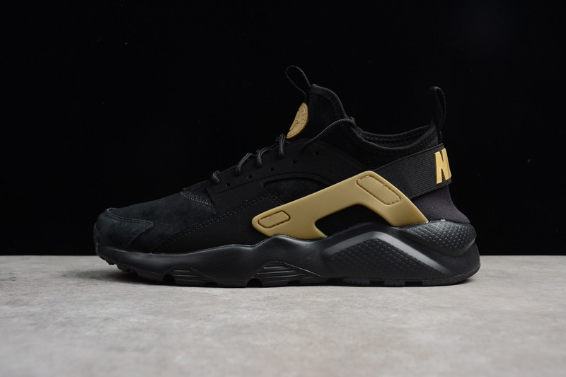 f91b0a6ec4645 Nike Air Huarache Ultra ID Black Gold 829669-331 Men s Sport Shoes ...