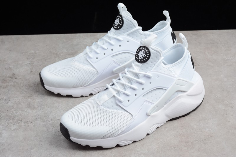 dcfd632db51a Nike Air Huarache Ultra Run ID White Black 753496-371 Running Shoes ...
