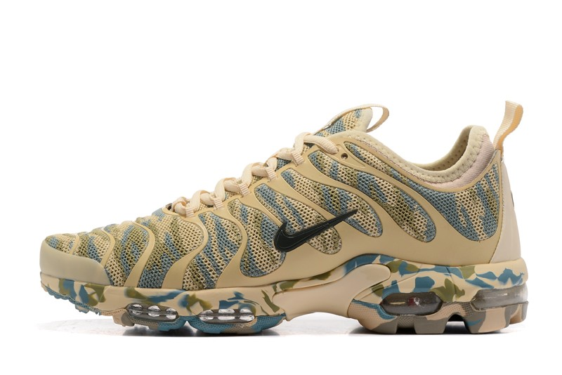 quality design ff020 5bf87 Nike Air Max Plus TN Green/Rice Yellow Camouflage 898015-026 Running Shoes  Sale