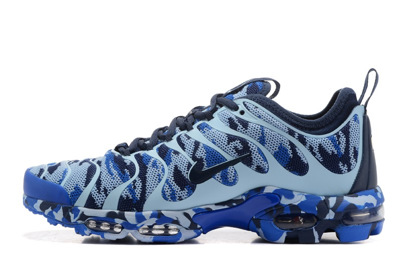 Nike Air Max Plus TN Ultra Navy Blue Camouflage 898015-023 Unisex Running  Shoes ...