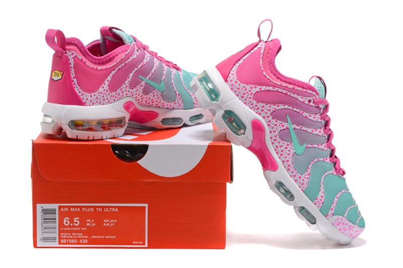 cheap for discount 5e1f9 62034 Nike Air Max Plus TN Ultra Pink/Blue/White 881560-438 Women's Running Shoes  Sale