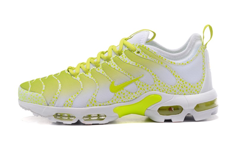 buy online 48cba 82c3c Nike Air Max Plus TN Ultra White/Lemon Yellow 881560-430 Sneakers For Sale