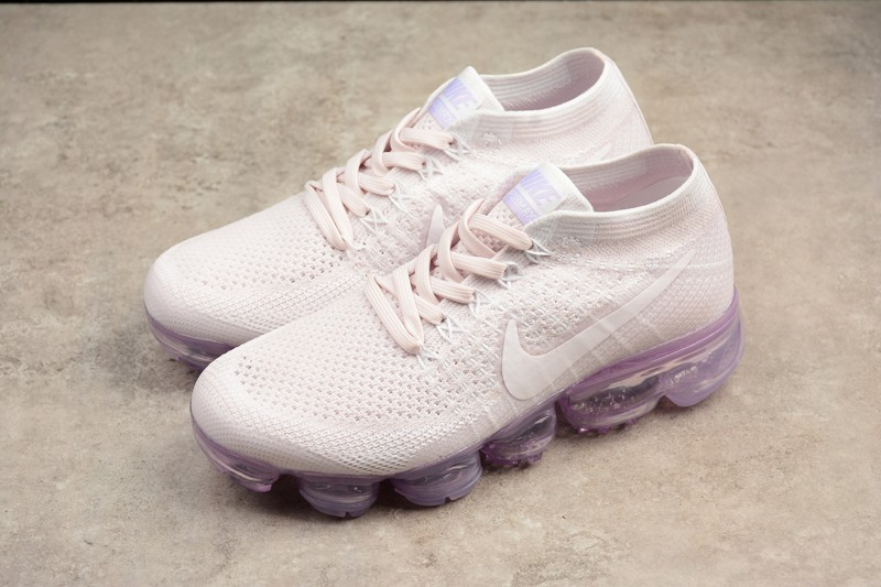 a77bd0ae60f ... Check Out Nike Air VaporMax Flyknit Light Violet 849557-501 Womens  Running Shoes ...