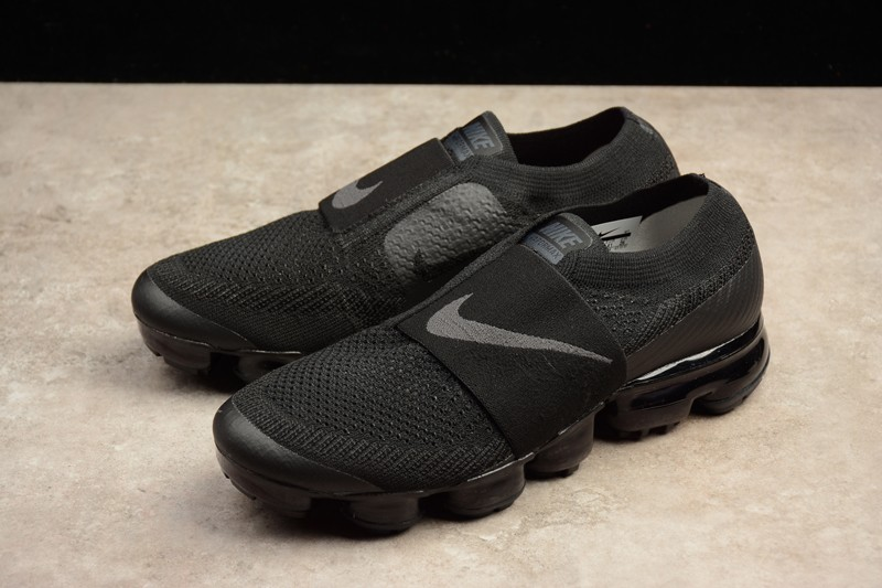 quality design 12ac0 95024 Nike Air VaporMax Flyknit Triple Black AH3397-004 Running Shoes For Sale
