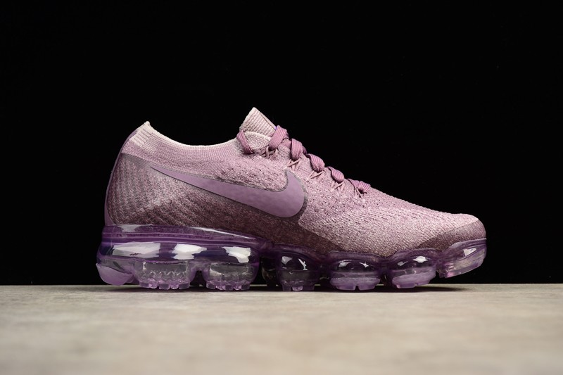 brand new d9fff d5a88 Nike Air VaporMax Violet Dust-Plum Fog 849557-500 Women's Running Shoes