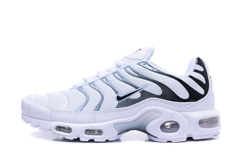 732f79c625 Perfect Nike Air Max Plus TN Ultra White/Black 526301-008 Men's Sport Shoes