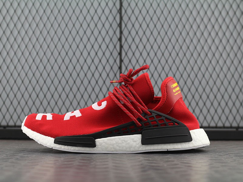 low priced f47b9 0751b Pharrell Williams Adidas Origianlas Human Race NMD Scarlet Red BB0620
