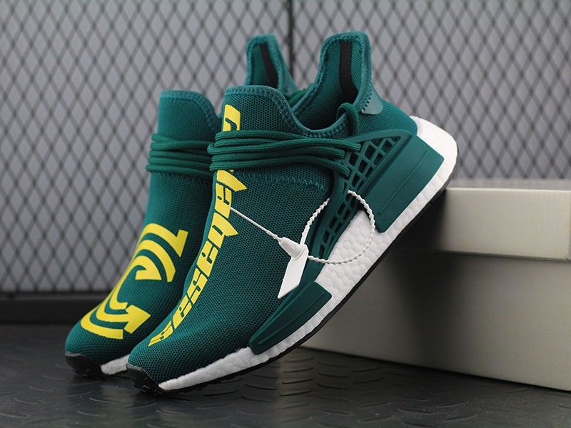 san francisco 2f71e ba6d2 Pharrell Williams X Adidas NMD Human Race Olive Green In Stock
