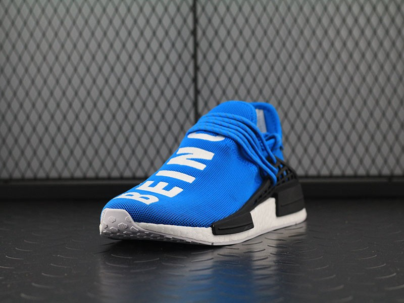 4b649ed67 Pharrell Williams X Adidas NMD Human Race  Shale Blue  Running Shoes ...
