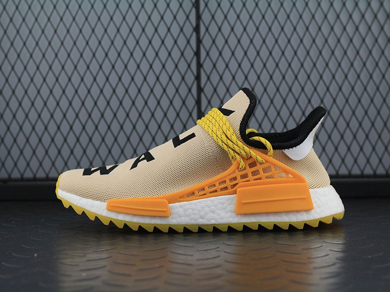 Pharrell Williams X Adidas Nmd Human Race Trail Pale Nude Core