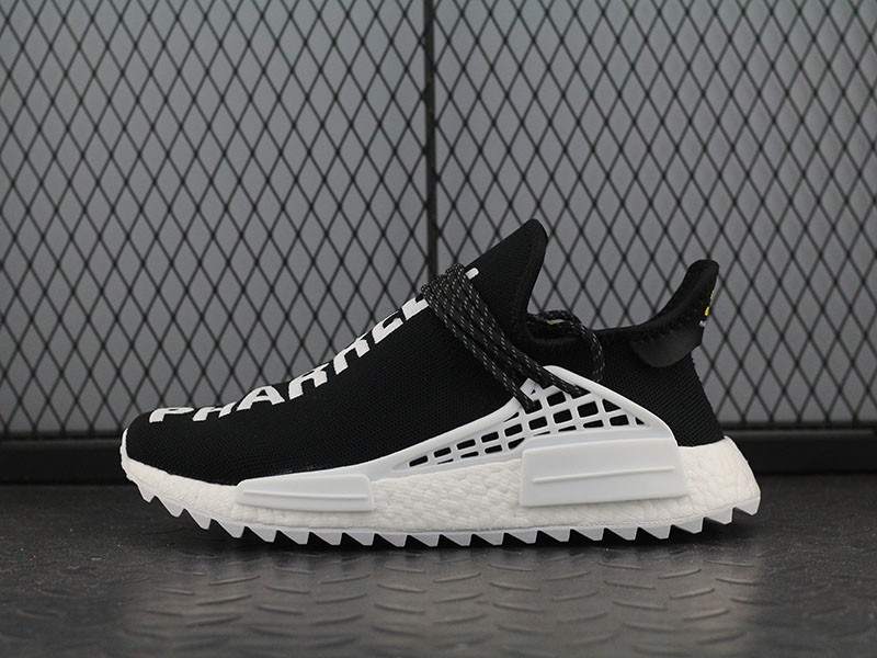new product df2f0 c016f Pharrell Williams X Adidas NMD Human Race Hu Trail Tai Chi Black/White  D97921