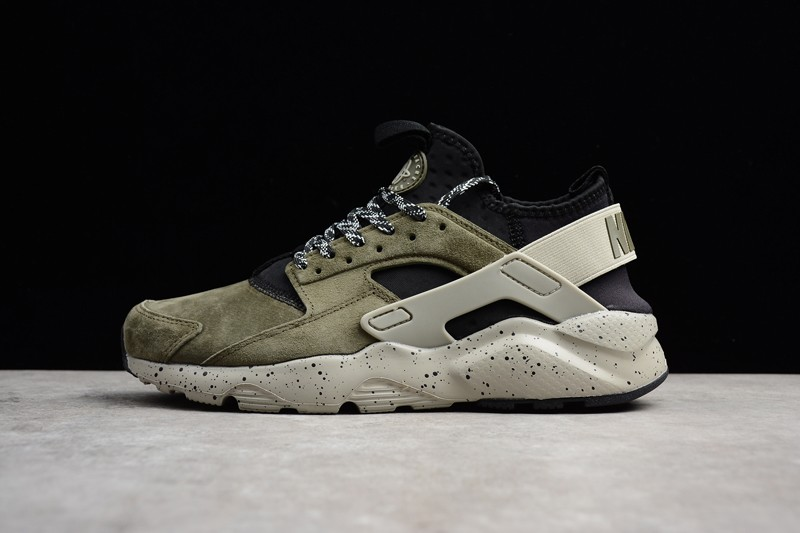 0789fab2ea4a ... norway popular nike air huarache brown green casual running shoes  829669 333 99853 19a6b