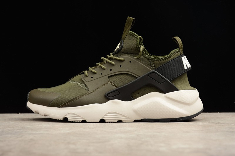 4b9943586b6e Popular Nike Air Huarache Run Ultra Cargo Khaki Light Bone 819685-300  Running Shoes