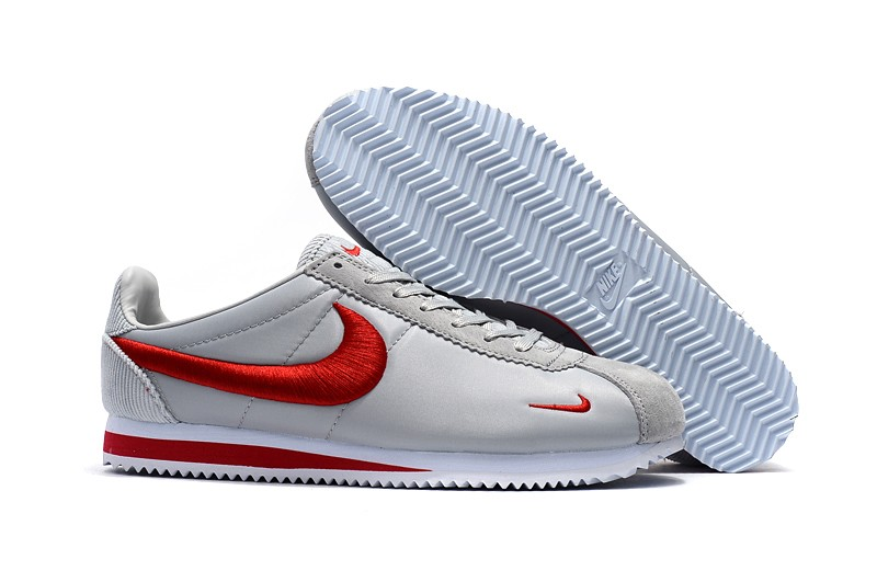 aa162079a8b Most Popular Nike Cortez Nylon White Varsity Red Fashion Running Shoes ...