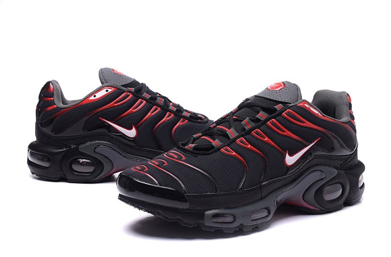 no se dio cuenta caridad Invitación  Top Quality Nike Air Max Plus TN Ultra Black/Red Men's Running Shoes |  Sneakers Big Sale