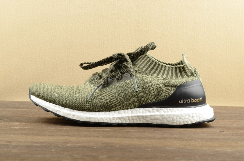 best sneakers e8feb 5b0e8 Adidas Ultra Boost Uncaged Tent Green/Black Running Shoes BB3901 For Sale