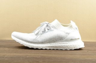 new product 7873b 5c14a Adidas Ultra Boost Uncaged White Cyrstal Running Shoes BB0773 Super Deals