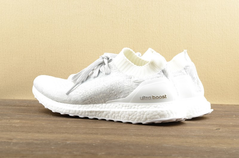 0dd42a68f Adidas Ultra Boost Uncaged White Cyrstal Running Shoes BB0773 Super Deals