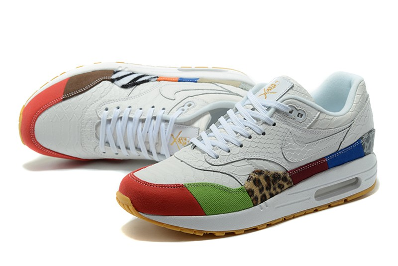 outlet store 060ac 519d5 nike air max 1 brown kelp white shoes for sale