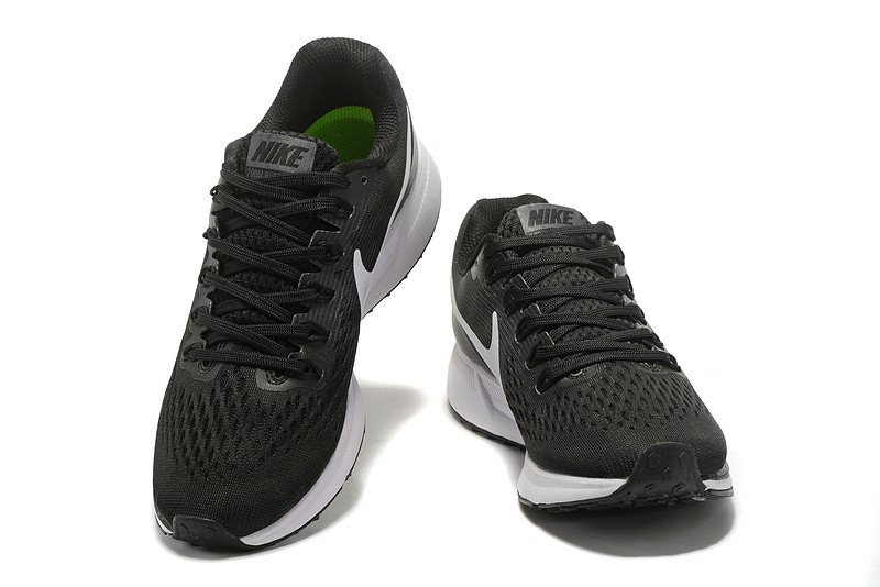 5503c9bc1a79d Classic Nike Air Zoom Pegasus 34 Casual Running Shoes Black White ...