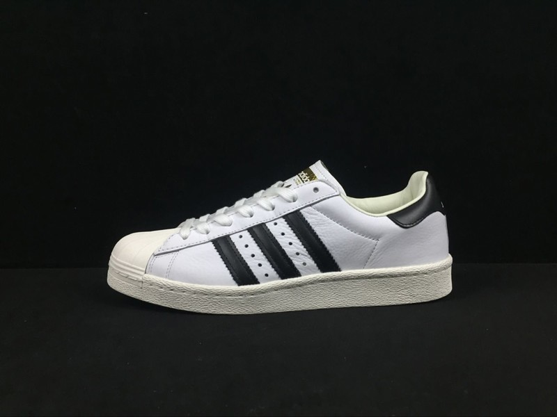 2a4fe0e40d0f High Quality Adidas Originals Superstar White Black BB0188 Casual ...