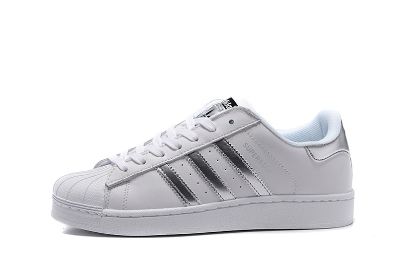 94f637aa1504 High Quality Adidas Originals Superstar White Silver AQ3091 Men s ...