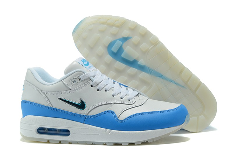 Nike Max Blue 102 High Quality Running Shoes 918354 Air 1 Whiteuniversity I9EDHW2