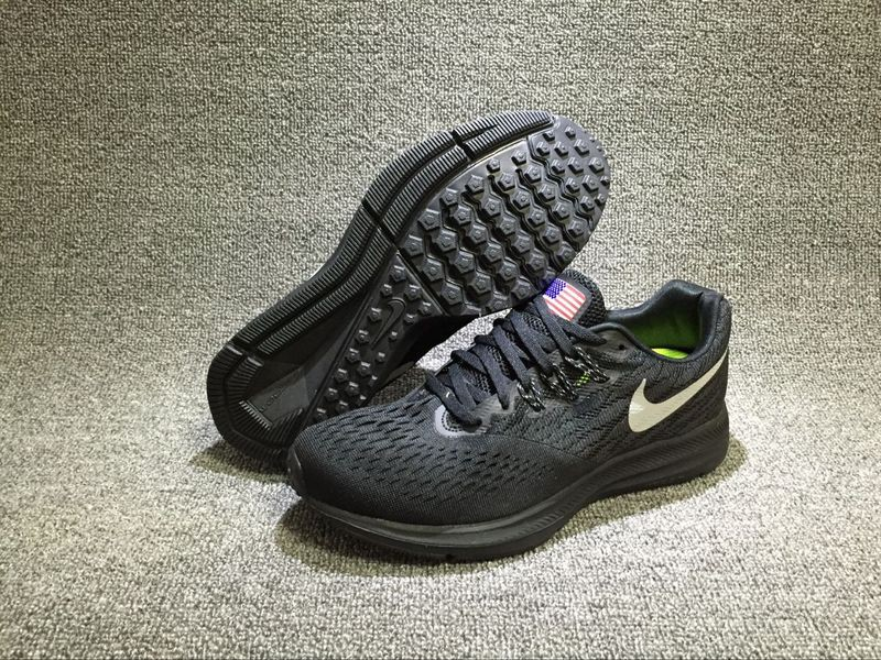 promo code for hot selling nike zoom winflo 4 black white 9a308 d074b 16371a69d