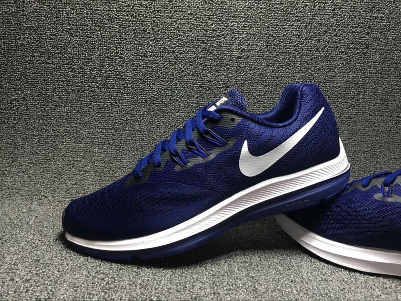 aebe462fcf8a5 ... ireland hot selling nike zoom winflo 4 royal blue white mens running  shoes ac3db 2aefc