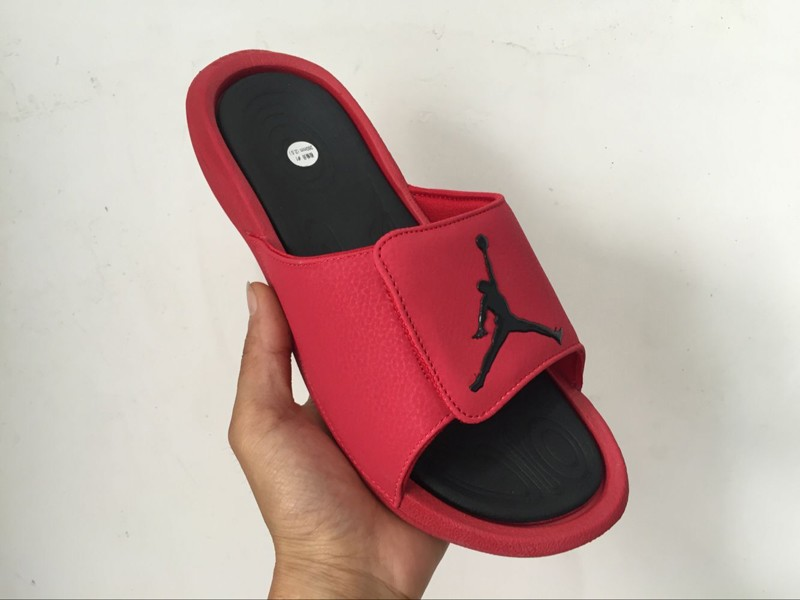 27be86a0666ae9 Jordan Hydro 6 Gym Red-Black Synthetic Sandals Massage Slippers 881473-600