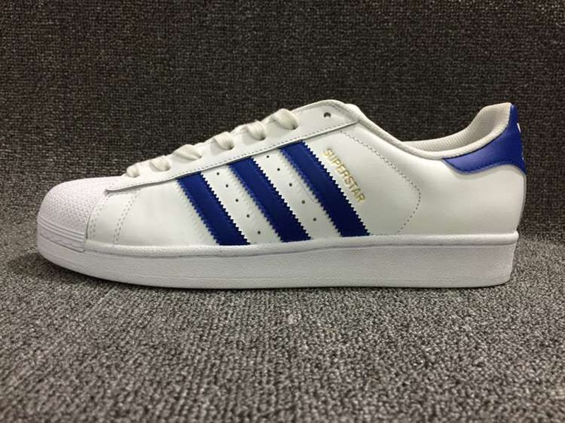 Romance tabaco Construir sobre  Latest Style Adidas Originals Superstar White/Blue Men's-Women's Shoes  B27141 | Sneakers Big Sale