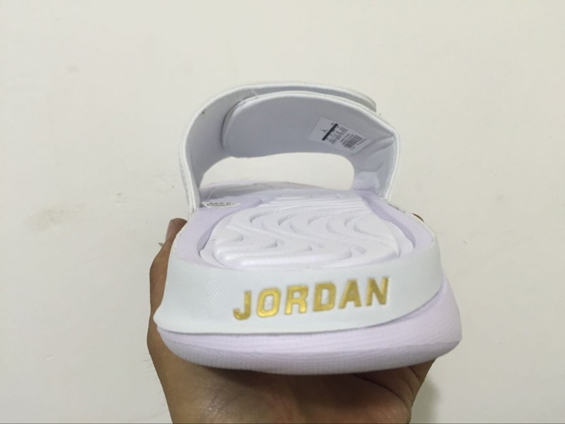 5cc2bcc7314b ... online a1fd4 310d6  france mens air jordan hydro 6 white gold sandals  slippers slides 820257 135 for sale 87fb1