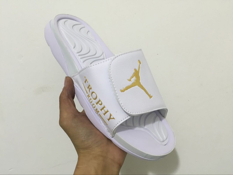 a3db88c35 ... france mens air jordan hydro 6 white gold sandals slippers slides  820257 135 for sale 87fb1
