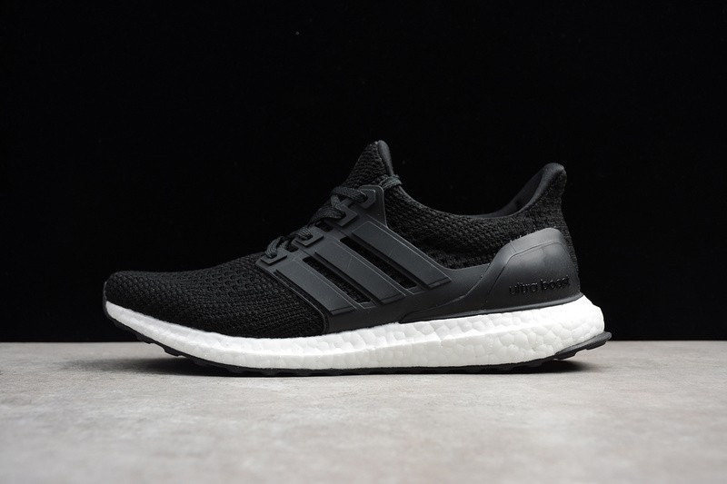 fff1eb143be77f Most Popular Adidas Ultra Boost 4.0 Black BB6166 Running Shoes For Sale