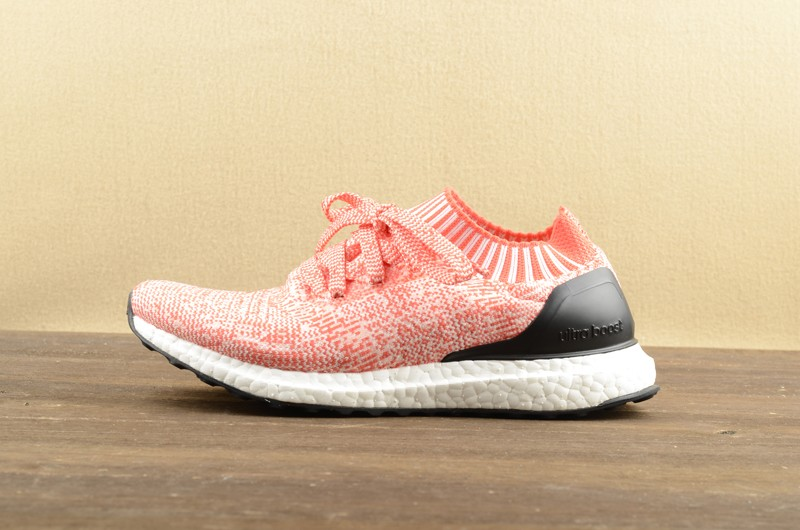 c6726a481 Most Popular Adidas Ultra Boost Uncaged Pink Black Running Shoes BA7932