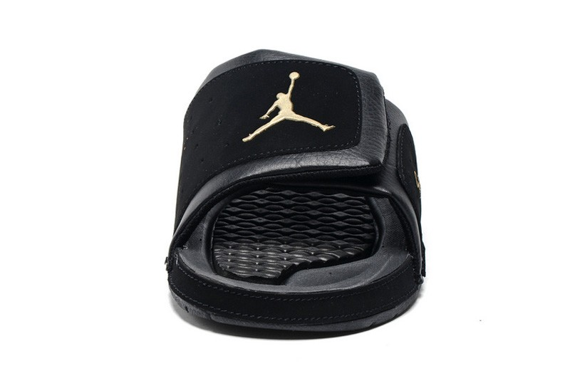70ef749ee4a7f8 Most Popular Jordan Hydro 2 Men s Black-Gold 456524-042 Slide ...