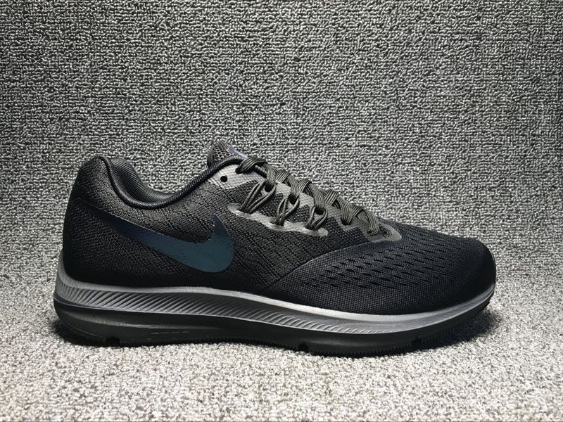 f1f9e57ef379 ... mens running shoes 97bb9 35490  best price most popular nike zoom  winflo 4 black 644e5 a4257