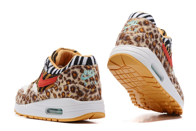 b1be5abc9417c7 Most Popular Women s Nike Air Max 1 Leopard Running Shoes 315763-761 ...