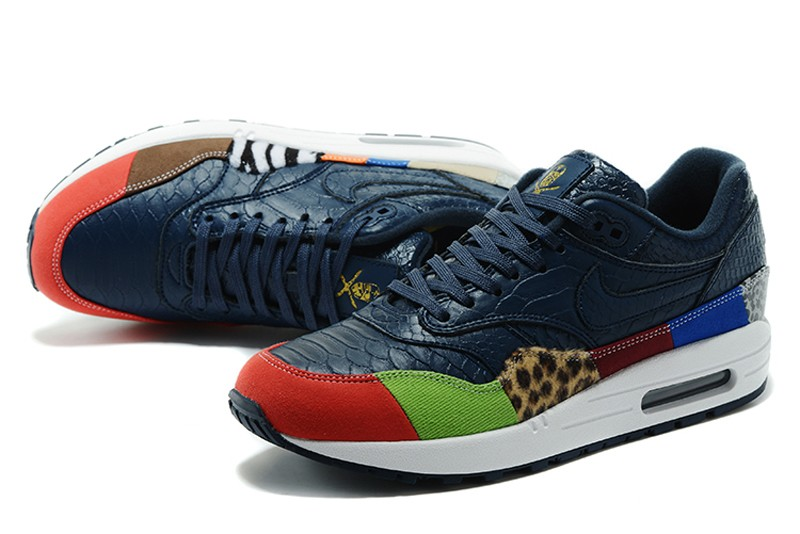 wholesale dealer cf78f dc035 ... mens running shoes 7652e d5619  cheapest new arrival nike air max 1  navy 6d10a 8b152