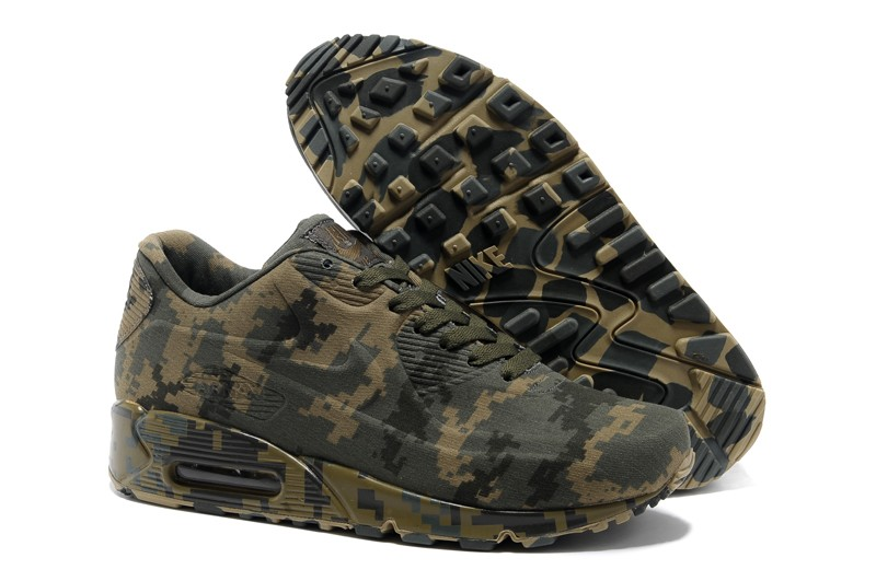 """2020 New Arrival Nike Air Max 90 VT """"Camouflage Green Coffee ..."""
