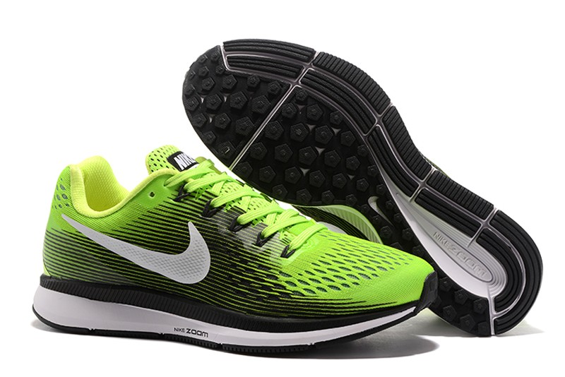 timeless design ed4a1 ef979 Nike Air Zoom Pegasus 34 Ghost Green/White 880555-300 Running Shoes For Sale