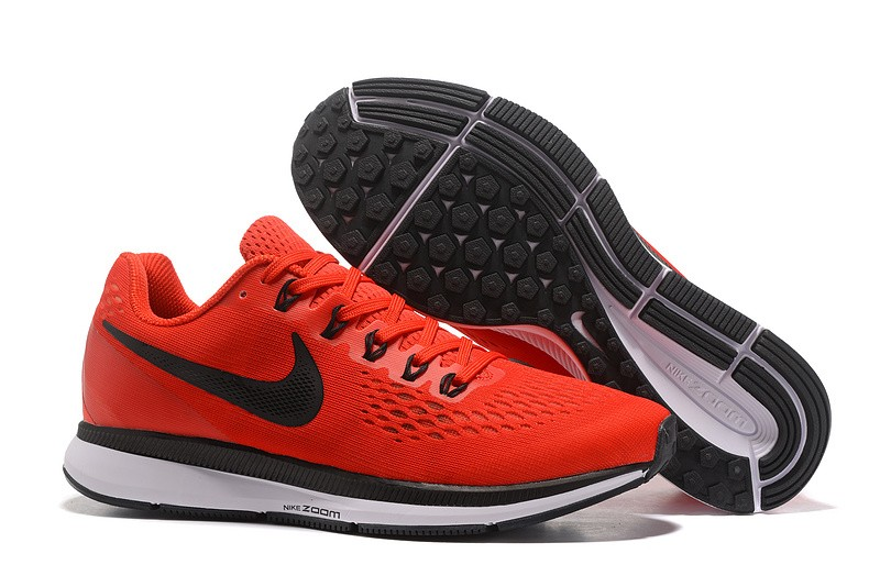 info for 1ea98 5dbe7 Nike Air Zoom Pegasus 34 Pure Red/Black Men's Running Shoes Sneakers  880555-600