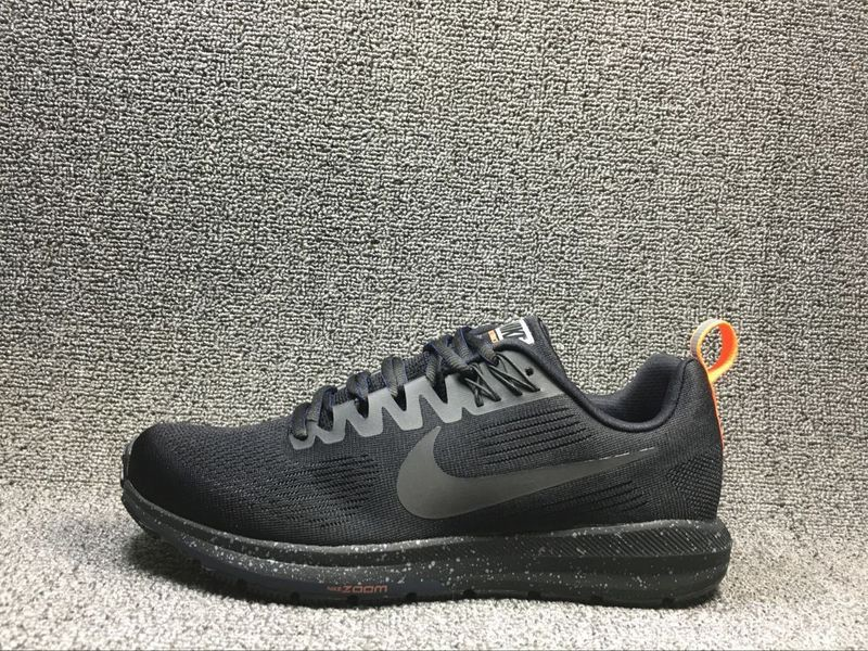 907324 001 Nike Black Zoom Structure 21 voor heren Running Air Trainers qrwBYBTfX