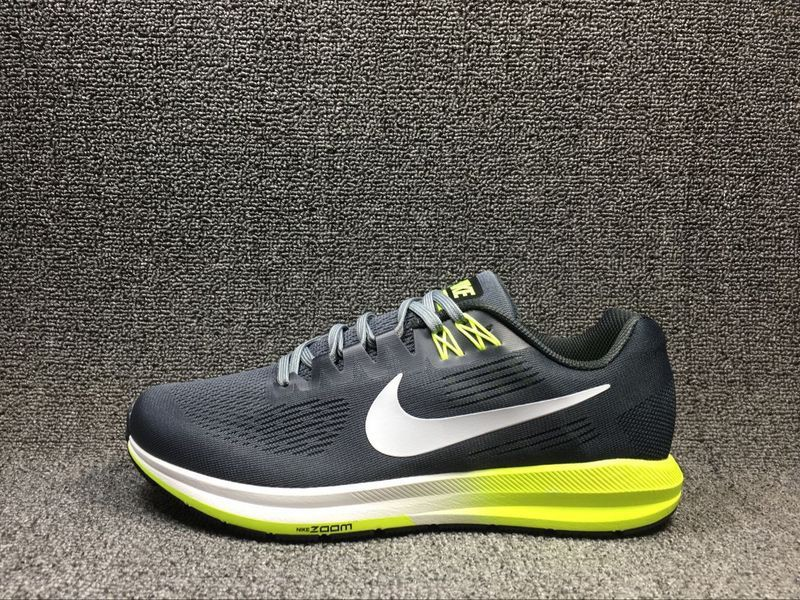buy online cc813 3f700 Nike Air Zoom Structure 21 Cool Grey/White/Yellow Men's Running Shoes  904695-007