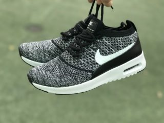 lowest price dcf88 0bd6c Nike Air Max Thea Ultra Flyknit 87 Black/White 881175-001 Running Shoes